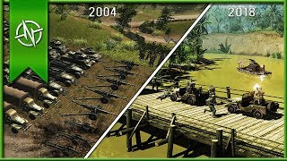 The Evolution Of Men Of War | 2004-2018 |