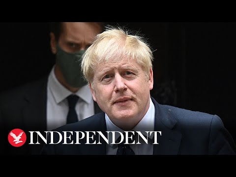 Live: Boris Johnson makes statement on withdrawal from Afghanistan