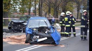 Wypadek drogowy - Świerklaniec