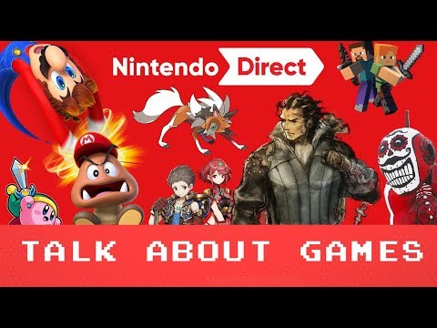 Nintendo Direct September 2017 - Talk About Games