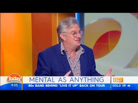 Mental As Anything (Greedy Smith) Today Extra March 2017