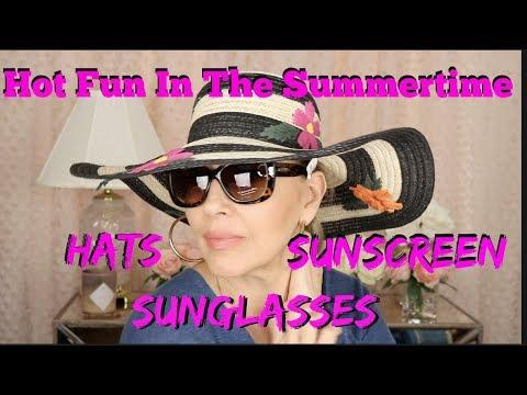 Sun Hats   Sunglasses   Sunscreens   Tammy's Ageless Beauty
