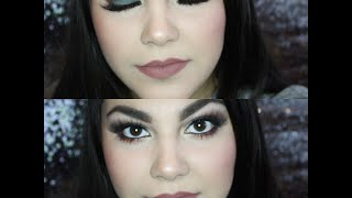 GRWM | Fall inspired dark green and brown + brown nude lips | Andreea Cristea