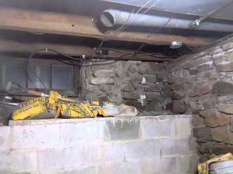 century home basement crawlspace digging out by hand youtube