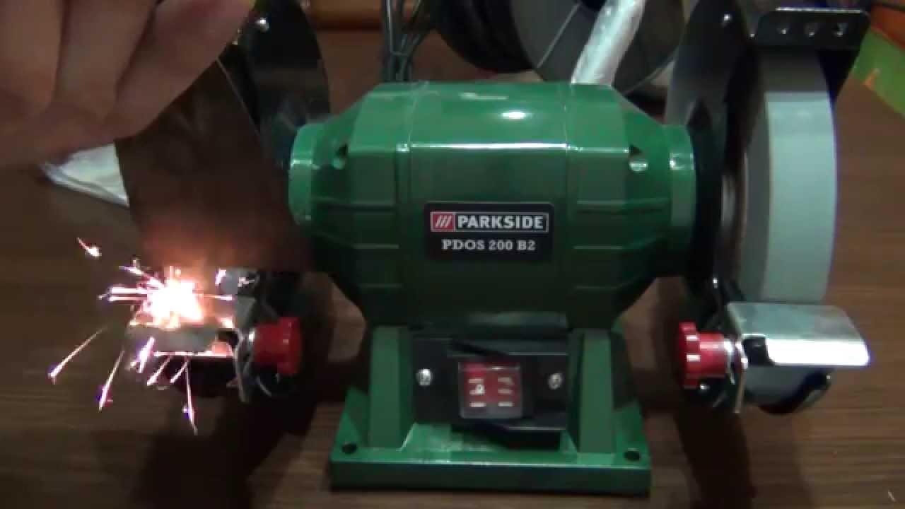 Esmeriladora Doble Parkside Pdos 200 B2 Lidl Youtube