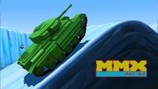 - МАШИНЫ МОНСТРЫ 1 Мультик игра для детей про тачки монстры. Гонки на машинах MMX Hill Climb