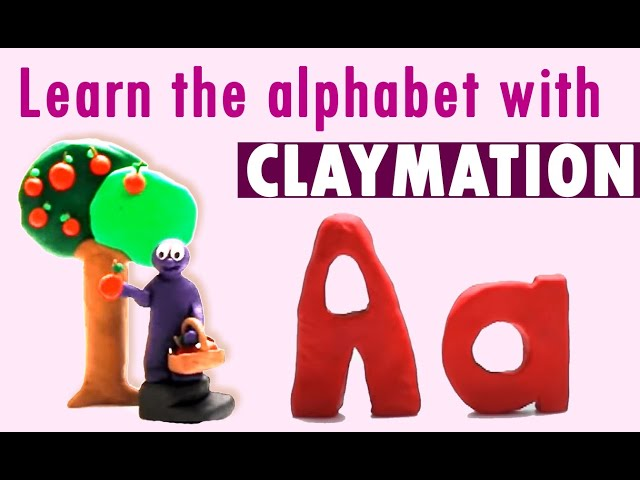Alphabet Animation | FUN Phonics | Stop-motion Clay Animation