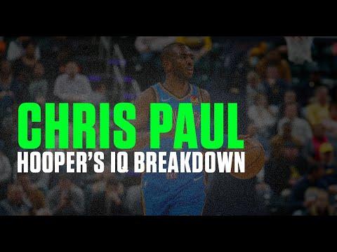 CHRIS PAUL Hooper's IQ