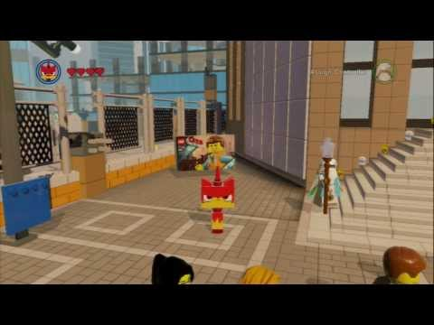 The Lego Movie Videogame Super Secret Cheats part 1: Angry Unikitty! (No Commentary)