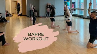 Barre class with Brittany
