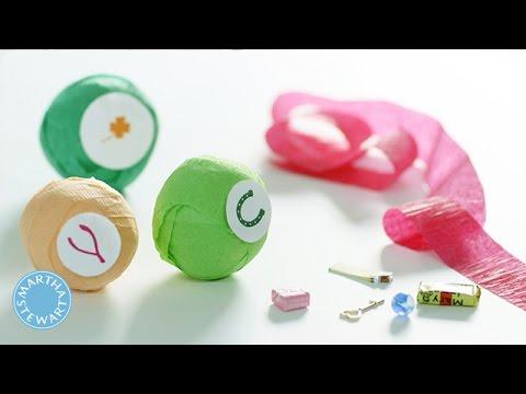 Crepe Paper Party Balls - DIY Style - Martha Stewart