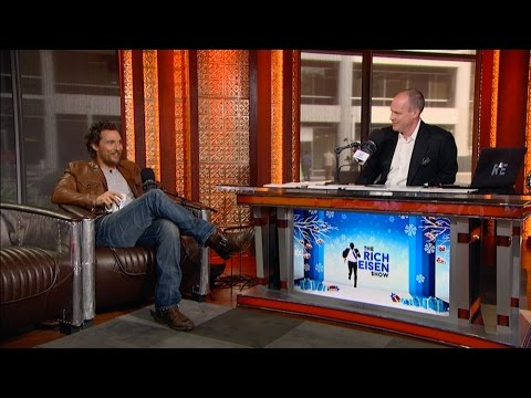 Academy Award-Winning Actor Matthew McConaughey Talks Redskins Football & More in Studio - 12/16/16