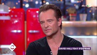 David Hallyday s'exprime, la suite ! - C à Vous - 13/12/2018