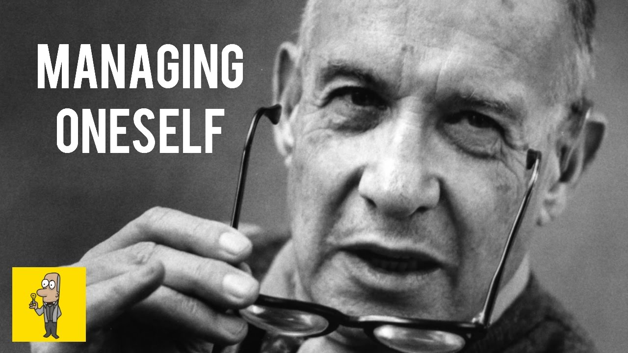 peter drucker controlling your self article