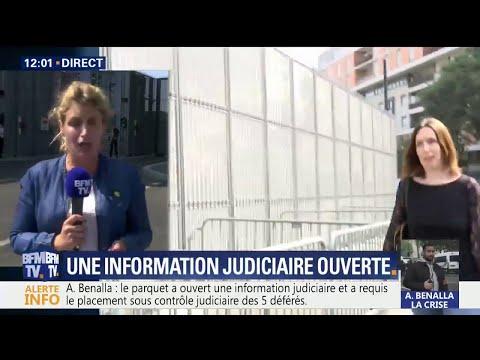 Affaire Benalla: le parquet de Paris ouvre une information judiciaire