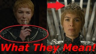 "What Cersei's Armor & Crown Represent/Symbolize in Season 6 Episode 10 ""The Winds of Winter"""
