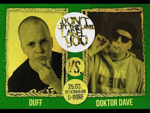 DuFF vs Doktor Dave // DLTLLY RapBattle (NRWeekend // Düsseldorf) // 2017