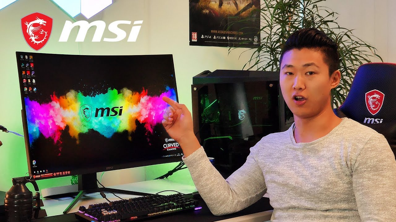 MAG321CURV – Your 4K sidekick | Gaming Monitor | MSI