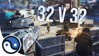 THIS IS INSANE: Modern Warfare 32v32 Ground War Gameplay!