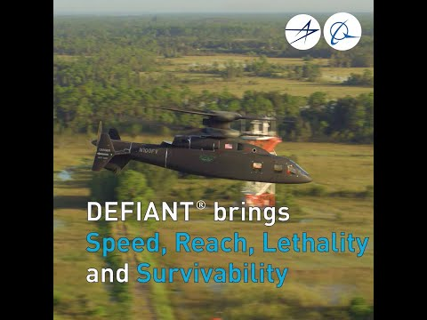 DEFIANT Expands FVL Flight Envelope