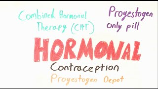 Hormonal Contraception part 1 (The contraceptive pill)