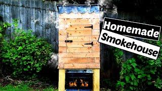 How To Make A Smoker - DIY Smokehouse