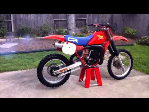 1984 honda cr 500 youtube. Black Bedroom Furniture Sets. Home Design Ideas