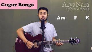 Chord Gampang (GUGUR BUNGA) RIP BJ HABIBIE by Arya Nara (Tutorial Gitar) Untuk Pemula