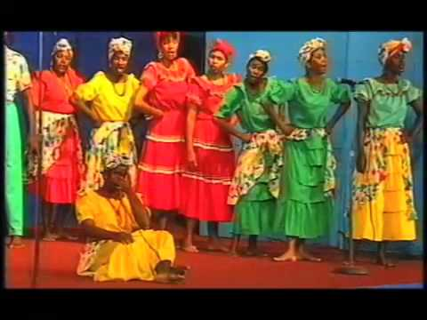 G.B.T.V. CultureShare  ARCHIVES 1993:  GRENADA NATIONAL FOLK CHOIR
