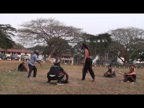 01-06-2013 Abibifahodie Capoeira in Africa End of Class Roda