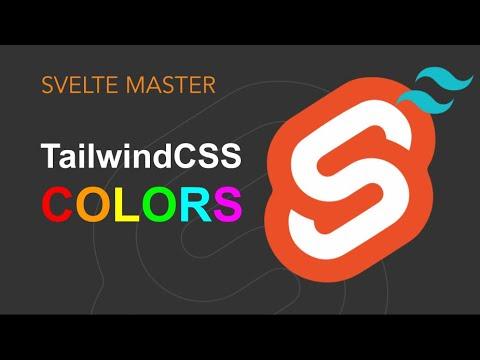 TailwindCSS - Custom Colors and Gradients