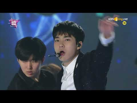 [LIVE] NU'EST W (뉴이스트 W) - INTRO + WHERE YOU AT @ 180125 KBS 27th SEOUL MUSIC AWARD [1080P]