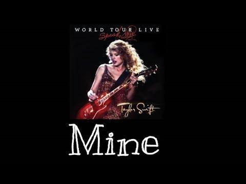 Taylor Swift - Mine (Speak Now World Tour Live) Audio Official