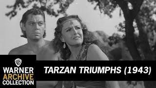 Tarzan Triumphs (1943) – Tarzan Feeds Nazis To The Pirana