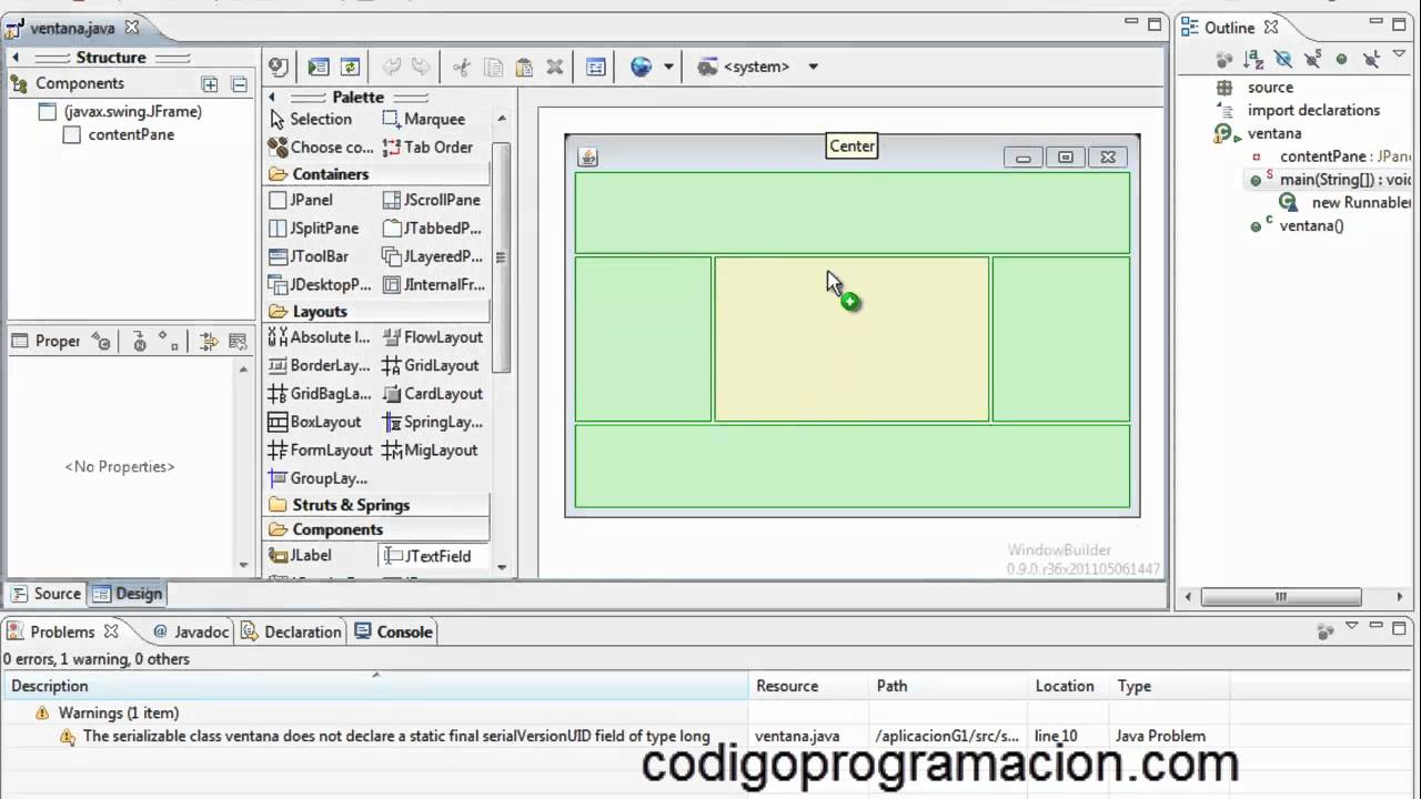 Java grafico haz interfaces gr ficas en java f cilmente con eclipse youtube - Optimaliseer de studio ...