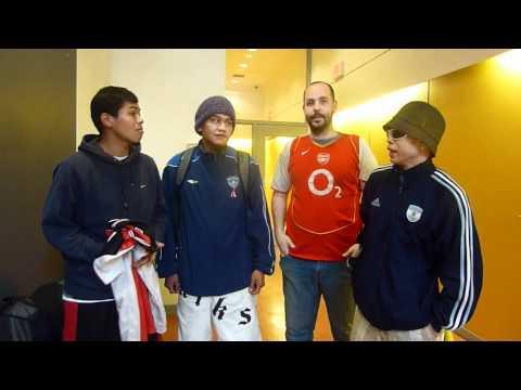 Woodwards FC team for Vancouver Street Soccer in V...