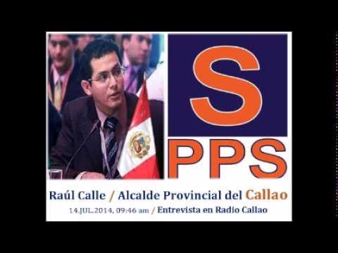 Radio Callao entrevista a Raúl Calle (14-7-2014)