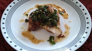 Easy Pan Roasted Chicken Breast W Gremolata Dinner Recipe