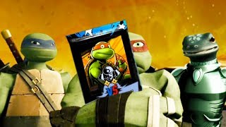 Teenage Mutant Ninja Turtles Legends - Mikey Classic PVP Pack & Team of Space Turtles