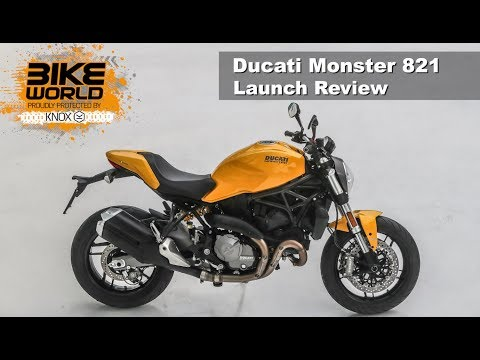 2018 Ducati Monster 821 Launch Review