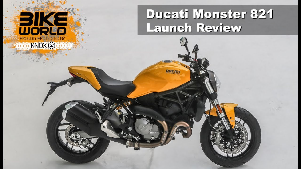 2018 ducati monster 821 launch review youtube. Black Bedroom Furniture Sets. Home Design Ideas