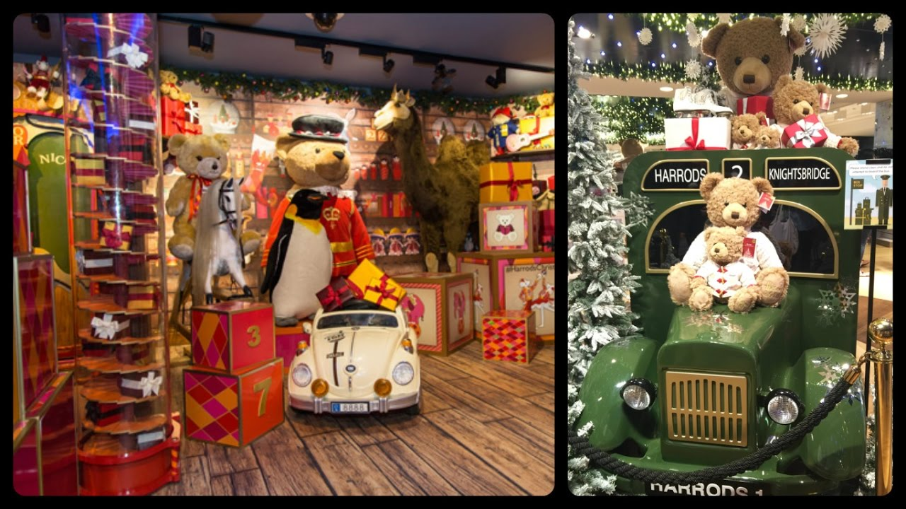Christmas Time At Toy Kingdom In Harrods Youtube