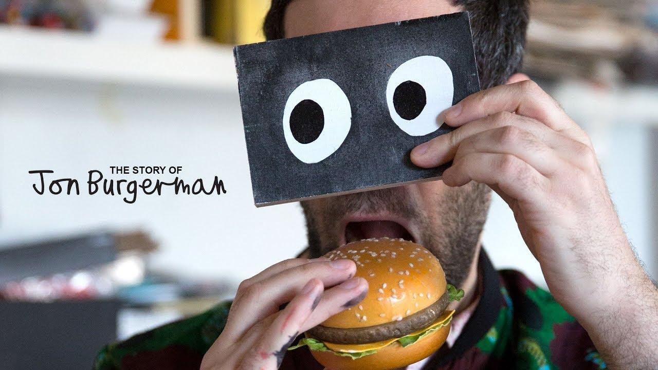 The Story of Jon Burgerman