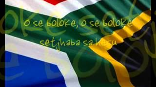 South Africa National Anthem Nkosi sikelel iAfrika.mp4