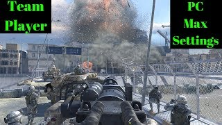Modern Warfare 2 remastered?? Mission Team player. The hype is real!