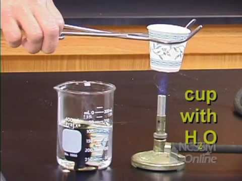 Boiling Water In Paper Cup Youtube