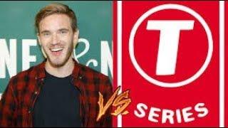 PewDiePie Vs T-Series Live Stream!