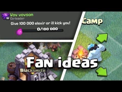 Fan Ideas #2 Clash of clans Concept!