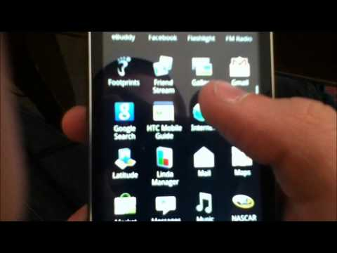 Temporary rooting an HTC EVO Shift 4G