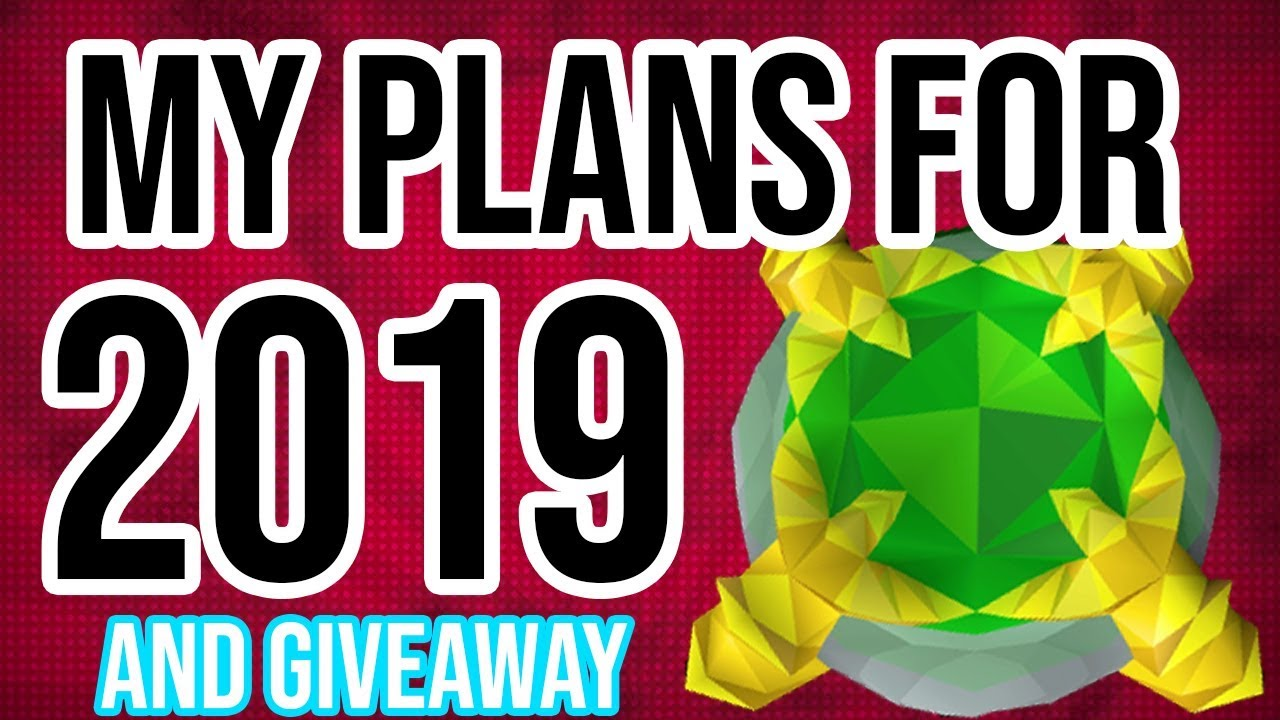 Plans for 2019 and a GIVEAWAY